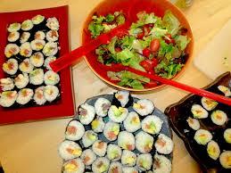 cours cuisine sushi atelier cuisine japonaise chez kaori à divonne association culture