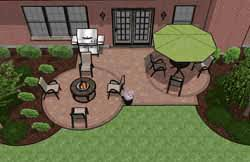 Patio Designs Pre Priced Patio Designs Cincinnati Schneider S Landscaping