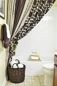 bathroom curtain ideas your bathroom look larger with shower curtain ideas