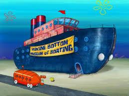 bottom museum of boating encyclopedia spongebobia