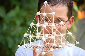 Toothpick House Marshmallow And Toothpick Buildings The Idea Room