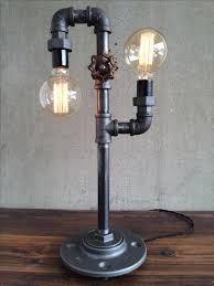 buy a hand crafted industrial edison bulb light iron pipe table