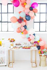 balloon garland balloon garland with flower melbourne party emporium balloons