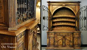 old world dining room old world dining room furniture old vineyard hutch because every