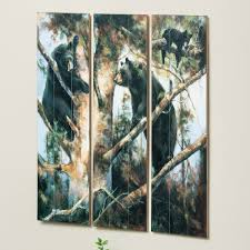 Wood Wall Panels by Three Bears Wood Wall Panels Set Of 3