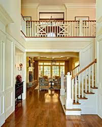 decorating red oak flooring with chair rail and crown molding