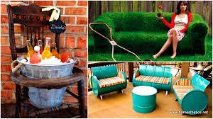 37 insanely creative diy backyard furniture ideas that everyone