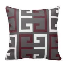 Red Decorative Pillow Maroon Pillows Decorative U0026 Throw Pillows Zazzle