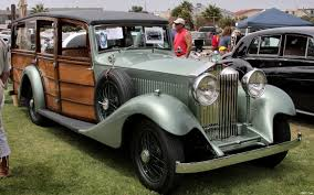 yellow rolls royce 1920 1933 rolls royce shooting brake with a