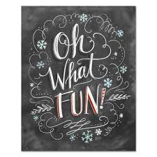 lily u0026 val u2013 oh what fun christmas home decor chalkboard art
