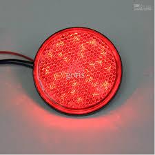 led brake lights for trucks 2018 led motorcycle light car truck red led reflectors round brake