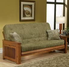 Mission Style Futon Couch Big Tree Futons Roselawnlutheran