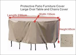 Oval Table Covers Outdoor Furniture by Aliexpress Com Buy Protective Cover For Patio Furniture Cover