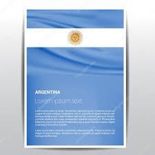argentina flag brochure template u2014 stock vector ibrandify 93735430