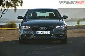 audi a4 headlights 2013 audi a4 sport edition review video performancedrive
