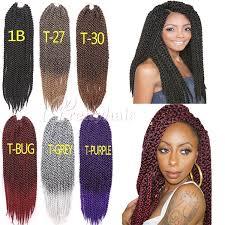 ombre crochet braids shipping 3d cubic twist crochet braids hair extensions ombre