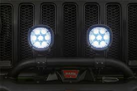 led lights for jeep wrangler free shipping on mopar jeep wrangler jl jlu 7 off road led light kit