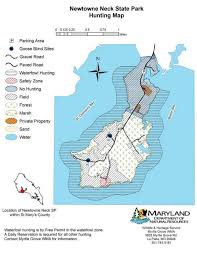 Maryland State Parks Map by Newtowne Neck State Park Find Your Chesapeake National Park