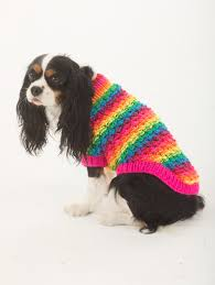 crochet pattern for dog coat free knitting pattern l32374 the proud supporter dog sweater lion