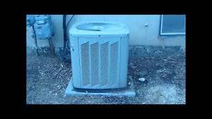 2004 trane xb10 air conditioner youtube
