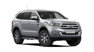 2017 ford endeavour colors white grey red bronze silver