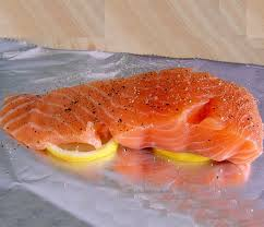 dukan diet attack phase recipe oven baked salmon fillet