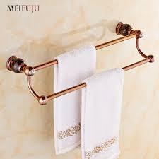 Aliexpress Com Buy German Online European Antique Rose Gold Jade Aliexpress Com Buy Rose Gold Finished Jade Towel Bar Towel