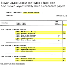 Meme Facebook - finance minister steven joyce literally backing the kiwi meme
