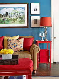 Red White And Blue Home Decor Feature Friday Red White And Blue Decor Southern Hospitality