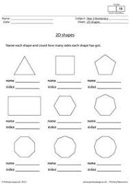 collection of solutions 2d shapes worksheets year 5 in sheets