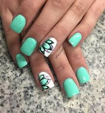 imagenes de uñas acrilicas fresh how to refreshing green nail art ideas diseños de uñas uñas