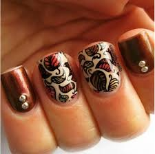 best 25 brown nail art ideas that you will like on pinterest
