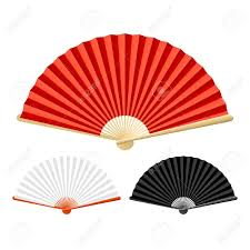 folding fan folding fan royalty free cliparts vectors and stock illustration
