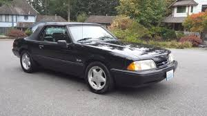 1993 mustang lx sold 1993 ford mustang lx 5 0 5 speed convertible black