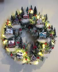 wreath villages martha stewart and