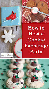 Christmas Party Host - how to host a cookie exchange party holiday nights cookie