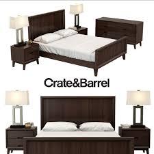 bed frames crate bedroom furniture urban home lauren bed west