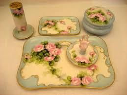 antique dish ring holder images Limoges bavarian antique porcelain dresser vanity set vintage jpg