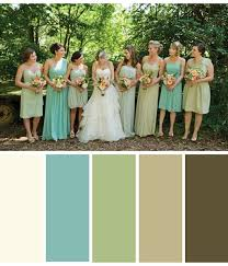 brown and teal color palette for serene bedroom with additional
