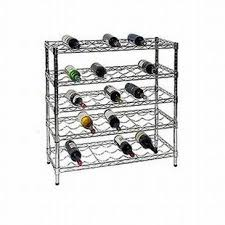 metal wine rack table wire wine rack the shelving store