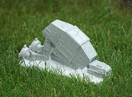wars lawn ornament thinkgeek