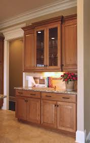 Black Lighted China Cabinet Hutch Sliding Glass Doors Wooden With