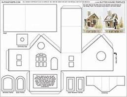 printable model house template photos printable fairy house template drawing art gallery