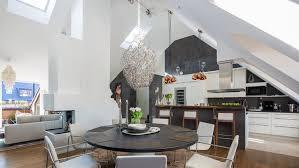 cuisine hotte aspirante design interieur aménagement de combles cuisine hotte aspirante
