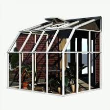 greenhouse sunroom rion sunroom kit 6 x 8 clear acrylic panels palram greenhouse store