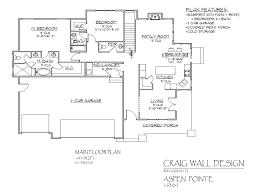 rambler house plans with front porch by morehouseplans