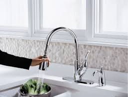 Delta Ashton Kitchen Faucet by Faucet Com 989 Ar Dst In Arctic Stainless By Delta