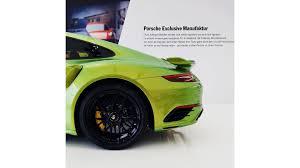 porsche 911 green porsche 911 turbo s u0027 custom factory paint job costs almost 100k