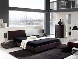 Simple Black And White Bedroom Ideas For Modern House HAG Design - Modern house bedroom designs