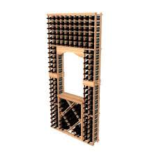winemaker wine racks 8 ft archway w diamond bins 10572 iwa wine